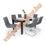 Barton 6 étkező Piero asztallal