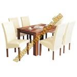 Berta 6 étkező Félix asztallal
