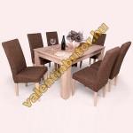 Berta 6 étkező Félix asztallal (sonoma)