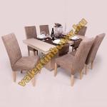Berta 6 étkező Flóra asztallal