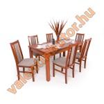 Félix 6 étkező Berta asztallal