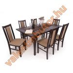Félix 6 étkező Raffaello asztallal