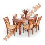 Kármen 6 étkező Berta asztallal