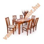 Sophia 6 étkező Berta asztallal